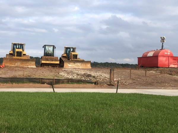 The Cathedral Lakes development is located off I-45. (Andrew Christman/Community Impact Newspaper)