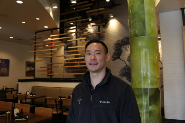 Jowin Wang is the owner of the restaurant's four locations. (Elizabeth Ucles/Community Impact Newspaper)