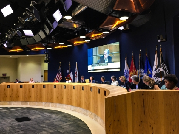 Austin City Council approved the prospective hire of Matthew Doherty on Feb. 6. (Christopher Neely/Community Impact Newspaper)