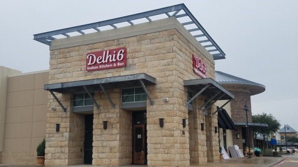 Delhi 6 Indian Kitchen & Bar is expected to open in March in The Shops at Highland Village. (Photo by Jason Lindsay/Community Impact Newspaper)
