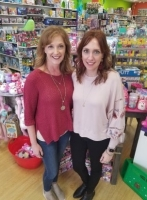 Becky Souther (right) is a new co-owner of Learning Express Toys & Gifts in Cypress. (Courtesy Learning Express Toys & Gifts)
