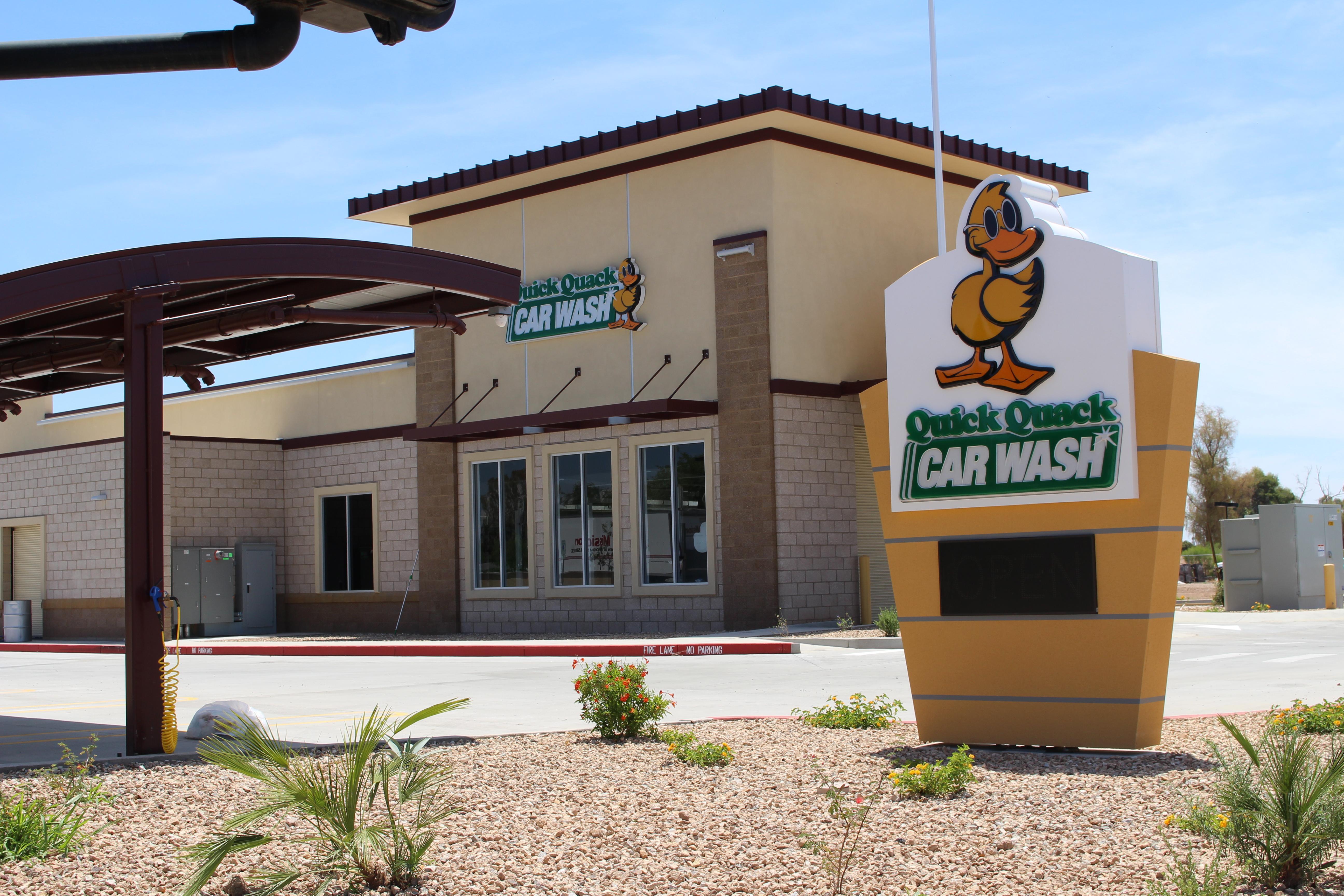 Quick Quack Car Wash has dozens of locations across Texas, Arizona, Colorado, California and Utah. (Tom Blodgett/Community Impact Newspaper)