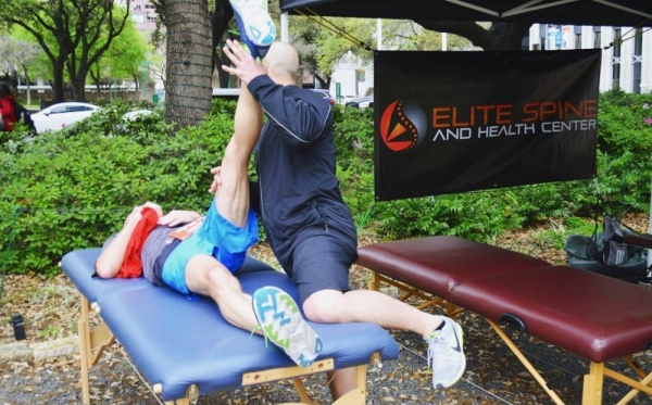 Elite Spine and Health Center is located at 18425 Champion Forest Dr. Suite 200, and offers treatments for auto injuries, sports rehabilitation, and other therapies. (Elite Spine and Health Center)