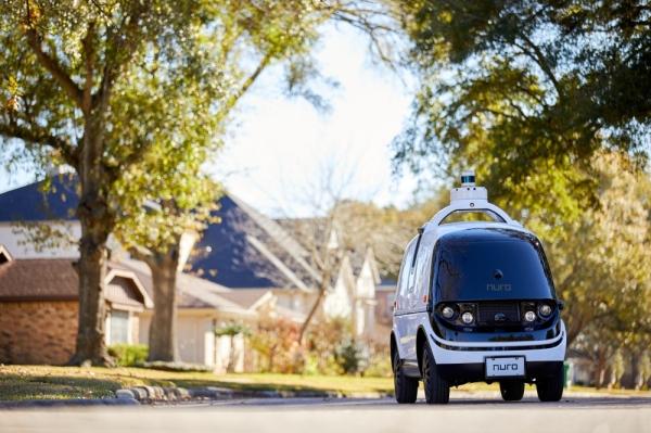 Nuro autonomous vehicle