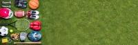 adobe stock sports equipment on grass