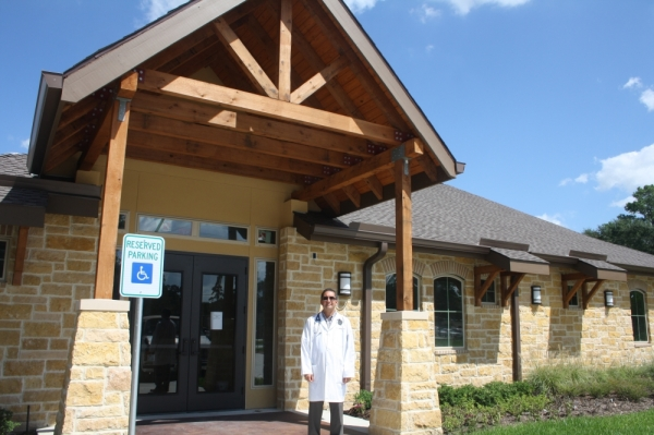 Dr. Ricardo Caballero has owned Cypress Veterinary Hospital since 2005. (Danica Smithwick/Community Impact Newspaper)