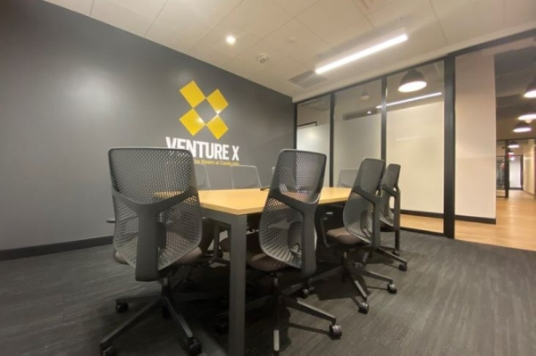 The new coworking space is located in The Realm at Castle Hills. (Courtesy Venture X)