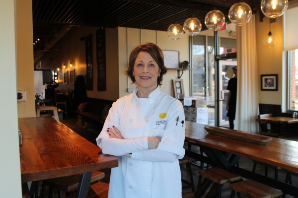 Ginger Blazek opened Zenzero Kitchen & Bakery in 2012. Photos by Lindsey Juarez Monsivais