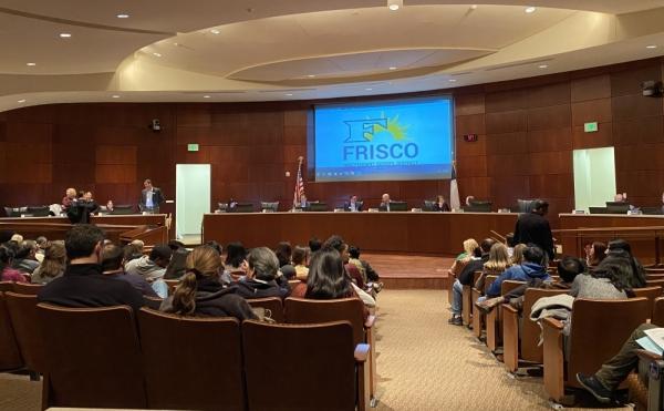 frisco isd board room
