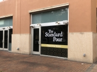 The Standard Pour will be going into the space where Taco Diner used to operate. (Leanne Libby/Community Impact Newspaper)