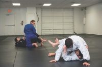 MA BJJ Academy's beginners class meets on Mondays, Wednesdays and Thursdays. (Photos by Gavin Pugh/Community Impact Newspaper)