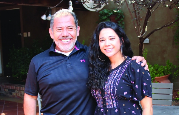 Cristina's Fine Mexican Restaurant is owned by Arturo Vargas (left). His daughter, Cristina Vargas, will take over the business when he retires. (Anna Herod/Community Impact Newspaper)