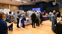 Resource fair exhibitors and sponsors offer services and guidance in legal planning, caregiving, health, wellness, volunteering, active aging and more. (Courtesy Vibrant Living! A Senior Empowerment Event)