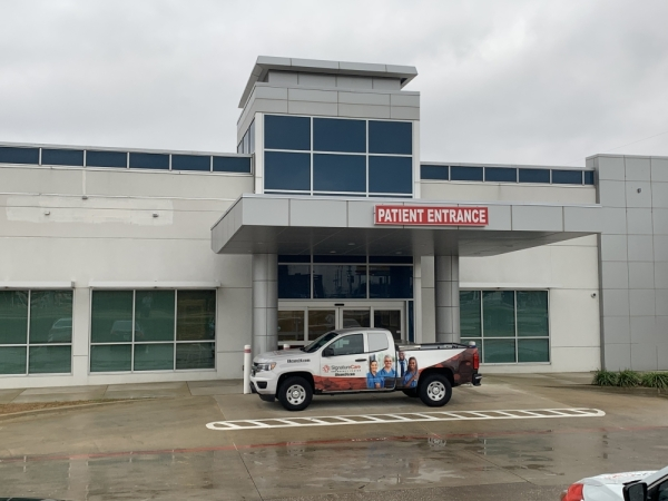 SignatureCare Emergency Center is set to open Feb. 17 in Lewisville. (Brian Pardue/Community Impact Newspaper)