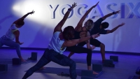 The business is part of a chain of modern-style boutique yoga studios; it was established in 2012. (Courtesy YogaSix)