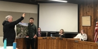 Conceptual images of the possible redevelopment were presented during a Feb. 12 council meeting. (Amy Rae Dadamo/Community Impact Newspaper)