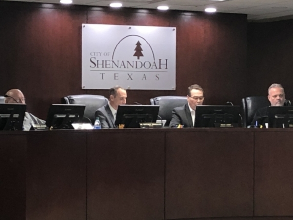 The Shenandoah City Council heard a presentation for an in-depth market study. (Andrew Christman/Community Impact Newspaper)