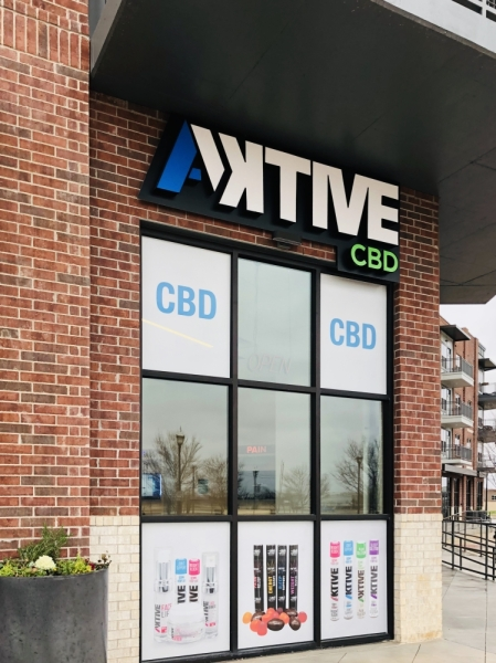 An Aktive Lifestyle CBD location officially opened in downtown Roanoke on Feb. 15. (Ian Pribanic/Community Impact Newspaper)