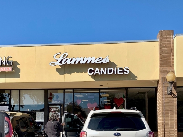 Lammes Candies has a shop off Anderson Lane. (Amy Denney/Community Impact Newspaper)