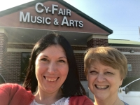 Nancy Johnston (right) will continue to run the Drama Kids program at Cy-Fair Music & Arts while Valentina Jotovic (left) and her husband take ownership of the business (Courtesy Cy-Fair Music & Arts)