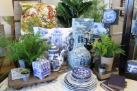 """Home decor at Beaucoup is described by Oliver as """"traditional but on-trend."""" (Olivia Lueckemeyer/Community Impact Newspaper)"""