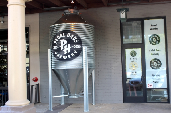 Pedal Haus Brewery is scheduled to open Feb. 21 in downtown Chandler. (Alexa D'Angelo/Community Imapct Newspaper)