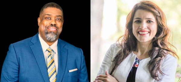 Undrai Fizer and Natali Hurtado are running in the Democratic primary March 3 for state representative District 126.