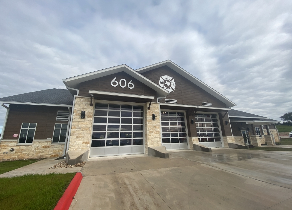 Hamilton Pool Fire Station 606 had its grand opening ceremony Jan. 25. (Photos by Brian Rash/Community Impact Newspaper)