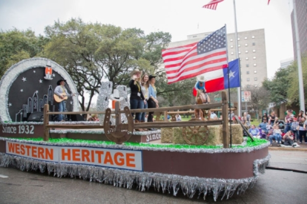 The Houston Livestock Show and Rodeo will host the 55th annual Go Texan Parade in downtown Conroe. (Courtesy Houston Livestock Show and Rodeo)