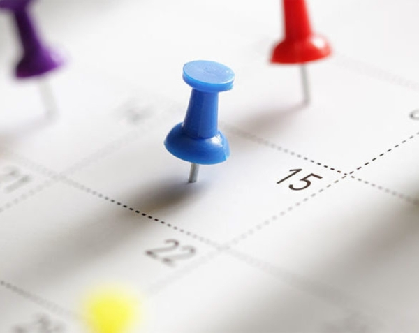 fotolia calendar thumbtacks