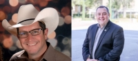 Brian Clack (left) is running against incumbent Chris Jones for Precinct 5 constable in the March 3 Republican primary.