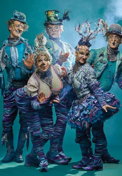 Cirque du Soleil comes to the Same Houston Race Park at the end of February. (Courtesy Cirque du Soleil)