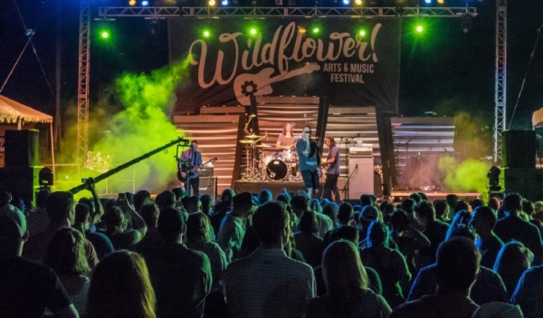 The Wildflower Festival will take place May 15-17. (Courtesy Wildflower! Arts & Music Festival)