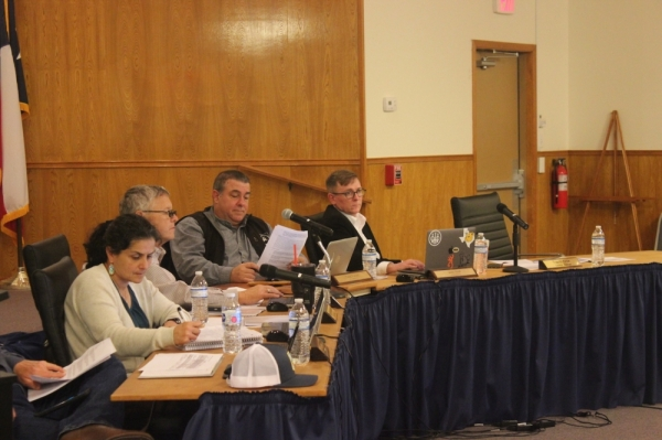 A photo of the Dripping Springs City Council.