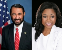 Incumbent Al Green and Melissa Wilson-Williams are democratic candidates for Texas' Ninth Congressional District.