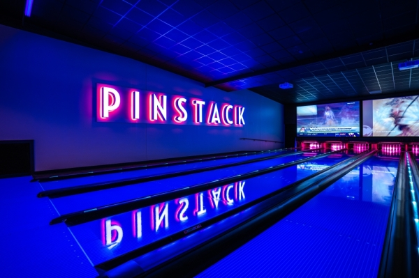 Pinstack opened its first Austin location Feb. 19 in the Tech Ridge Center. (Courtesy Pinstack)