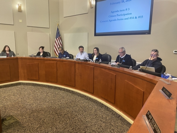 Lakeway City Council held a regular meeting Feb. 18. (Brian Rash/Community Impact Newspaper)