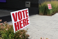Early voting for Texas' March 3 primary election began Feb. 18. (Dylan Skye Aycock/Community Impact Newspaper)