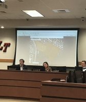 The board of trustees voted to place 12.5 acres of land on the market during the Feb. 19 meeting. (Amy Rae Dadamo/Community Impact Newspaper)