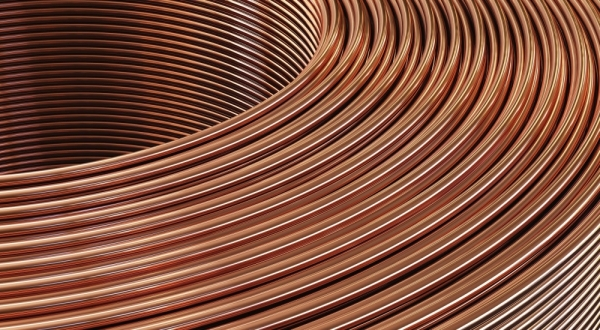 adobe stock image copper wire
