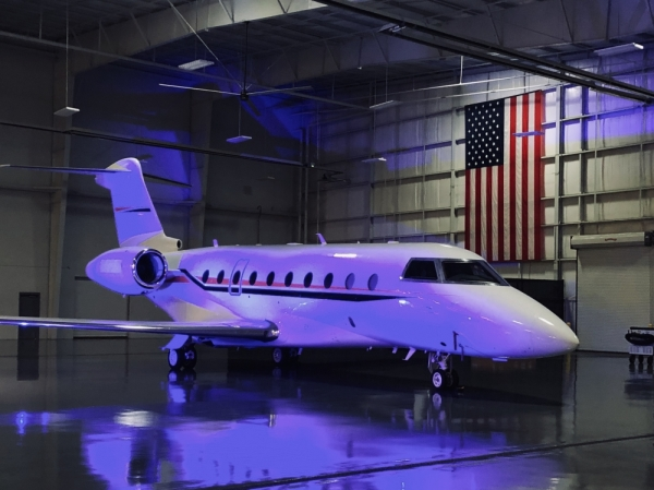 Gulfstream Aerospace Corp. announced Feb. 20 plans to construct a $35 million aircraft maintenance facility. (Ian Pribanic/Community Impact Newspaper)