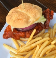 Stats Sports Bar and Grill offers a variety of American fare ranging from Buffalo wings and burgers to crawfish and flatbreads. (Courtesy Stats Sports Bar and Grill)