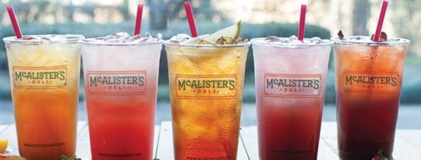Known for its signature sweet iced tea, the eatery offers salads, soups, sandwiches and spuds. (Courtesy McAlister's Deli)