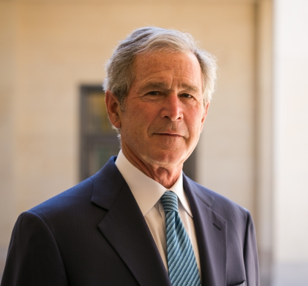 This is the former president's second time to speak at the annual meeting. (Courtesy George W. Bush Presidential Center)
