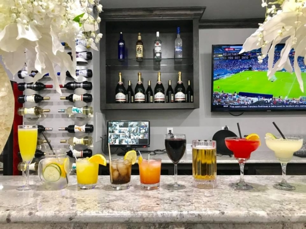 With an original location on Louetta Road in Cypress that first opened in 2017, the spa offers a variety of manicures and pedicures for men, women and children and features a full bar with complementary drinks. (Courtesy Gossip & Co. Nail Spa)