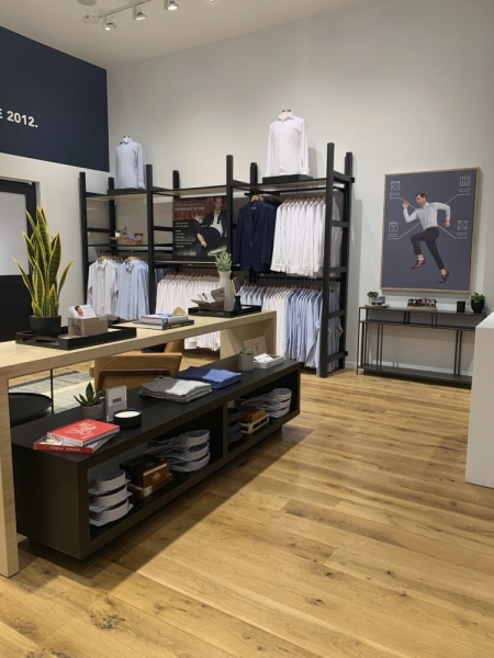 Dallas-based men's fashion retailer Mizzen+Main is now open in Domain Northside. (Courtesy Mizzen+Main)