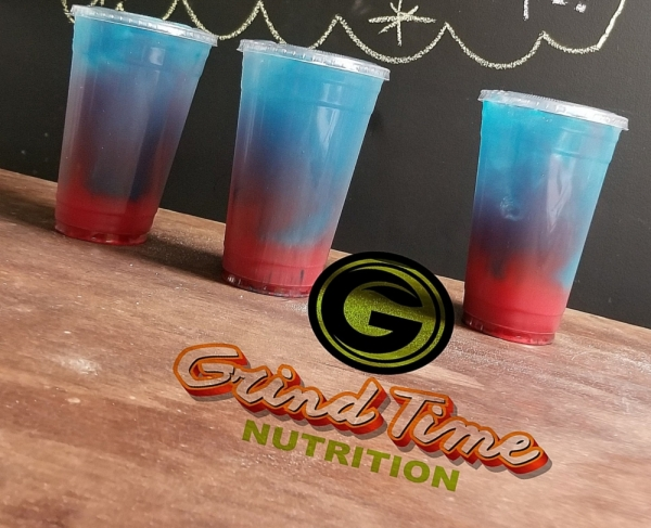 The business offers meal replacement shakes, energizing teas, specialty drinks and beauty drinks to help customers reach their health goals. (Courtesy Grind Time Nutrition)