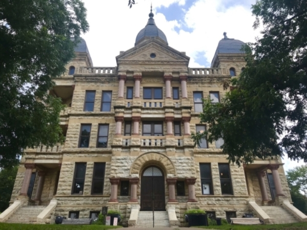 Denton County Commissioners Court meetings are held Tuesdays at 9 a.m. at 110 W. Hickory St., Denton. (Anna Herod/Community Impact Newspaper)