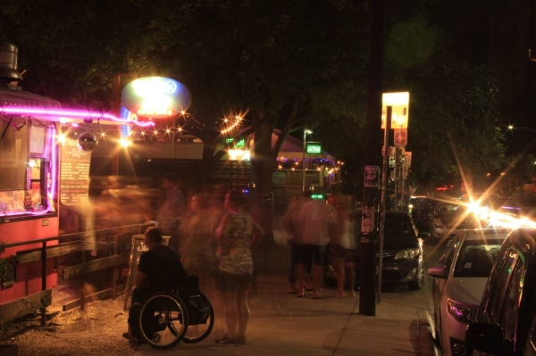 Austin's Rainey Street district has become one of the city's most popular entertainment and residential districts. (Christopher Neely/Community Impact Newspaper)