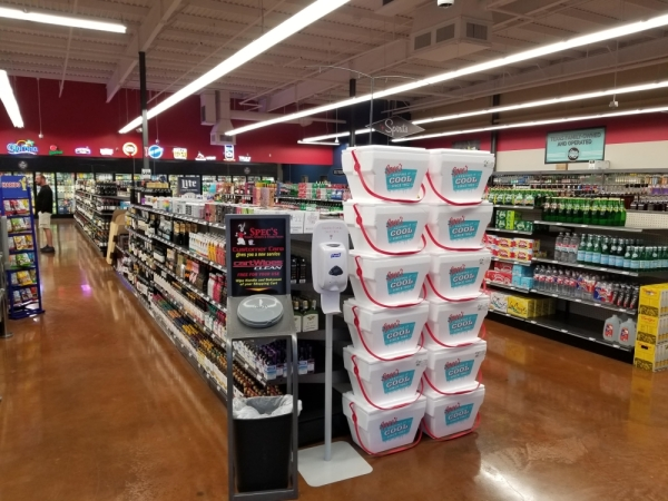 Spec's opened its Gosling Road location in mid-February. (Photo courtesy Spec's)